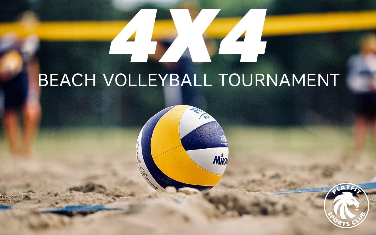 4x4 beach tournament in London