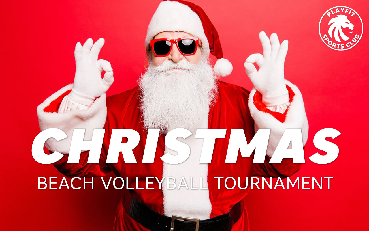 Christmas volleyball tournament in London