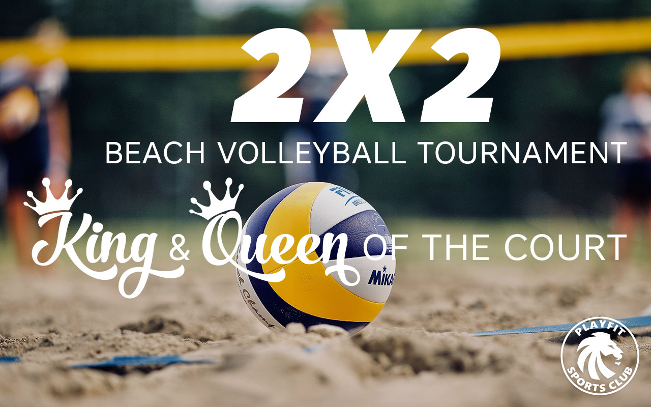 King & Queen of the Court beach volleyball tournament