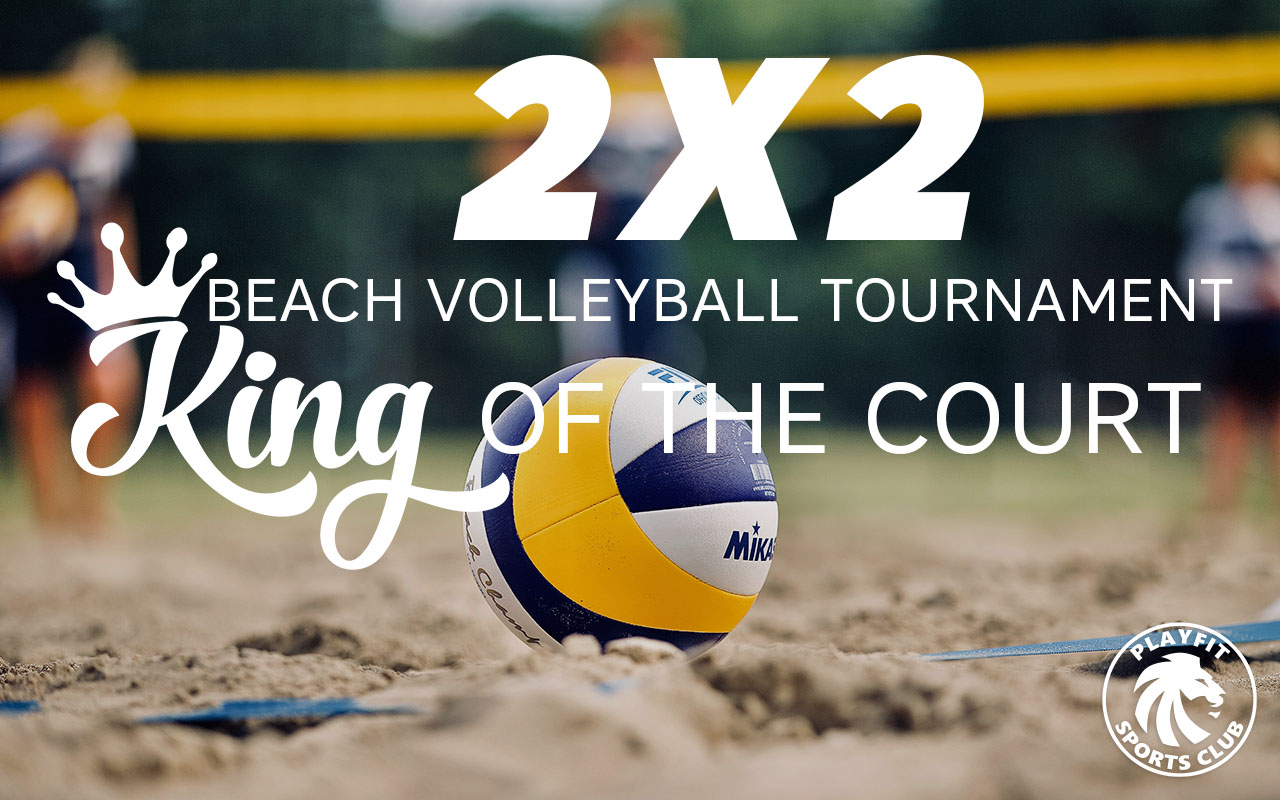 King of the Court beach volleyball tournament