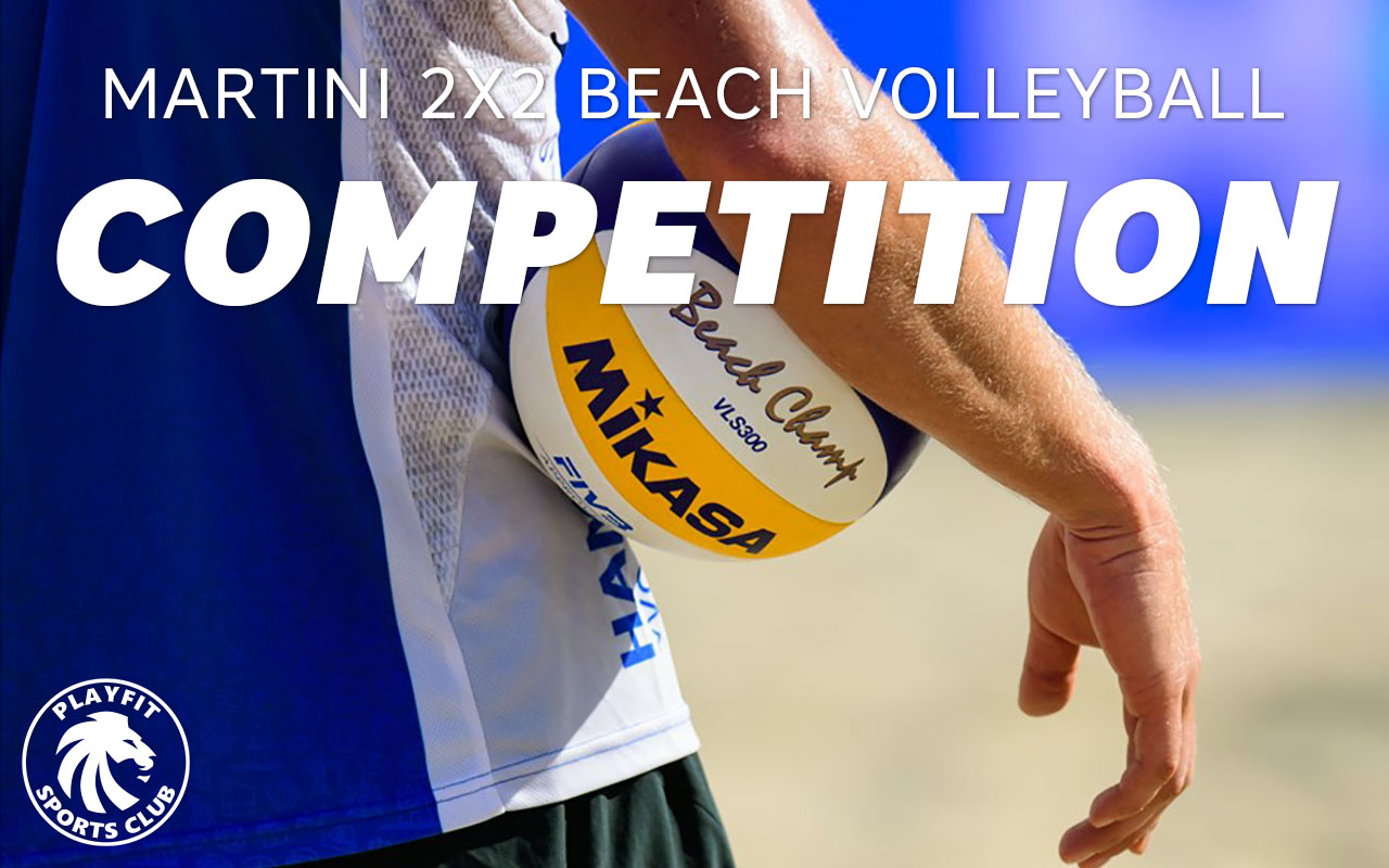 Martini 2x2 beach volleyball competition on Fridays in London