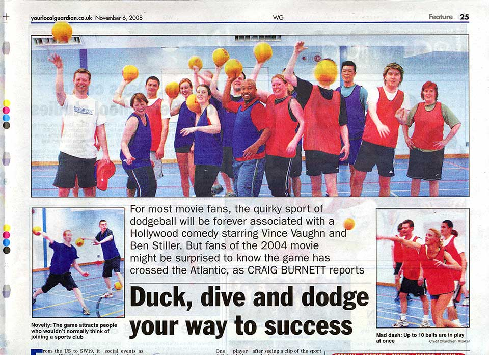 PlayFit featured in the local Wimbledon Guardian newspaper