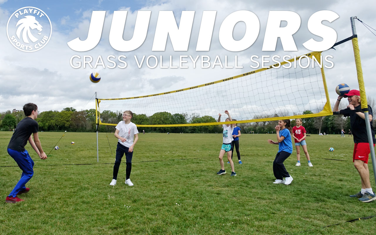 Juniors grass volleyball courses in London