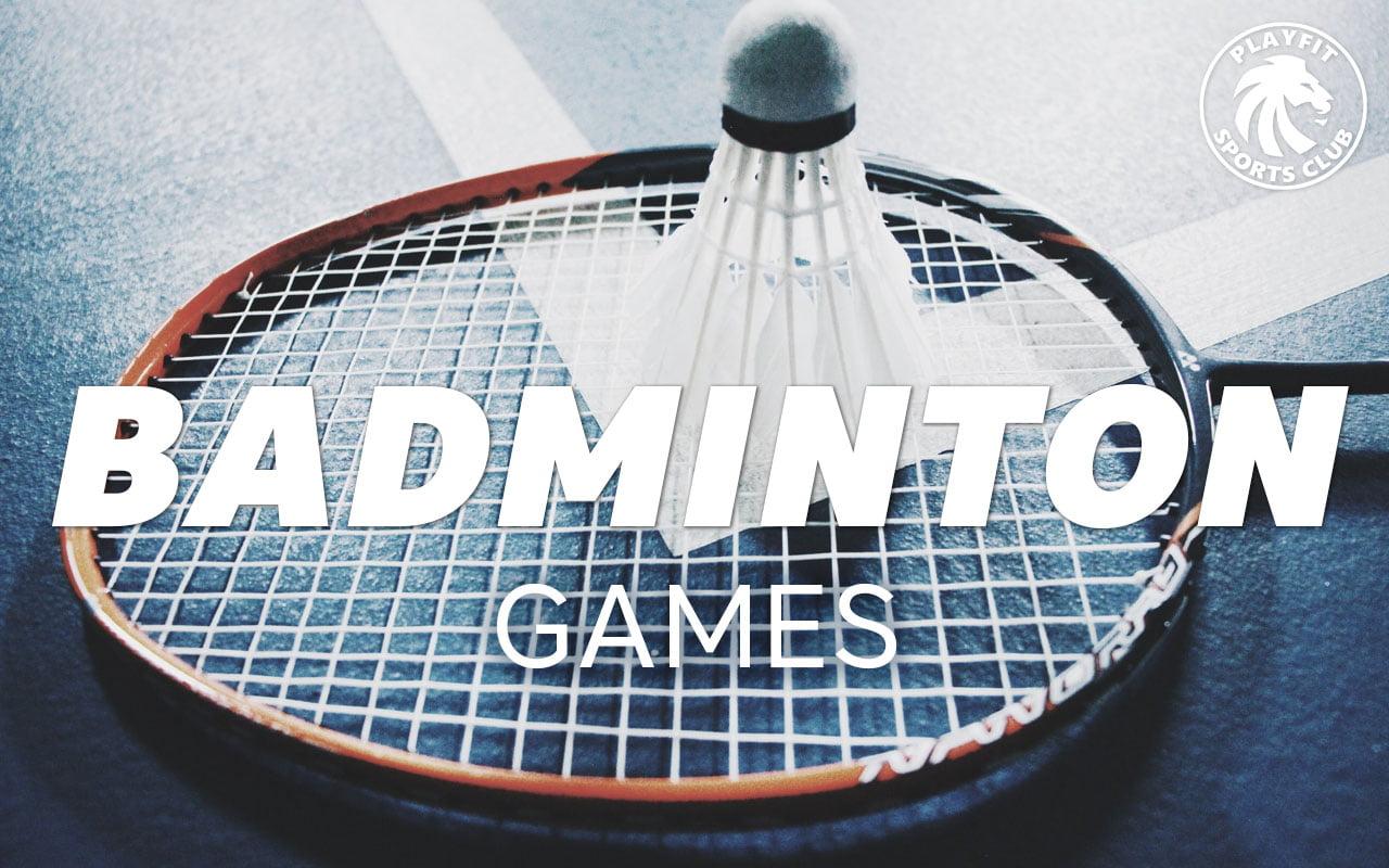 Badminton games in London