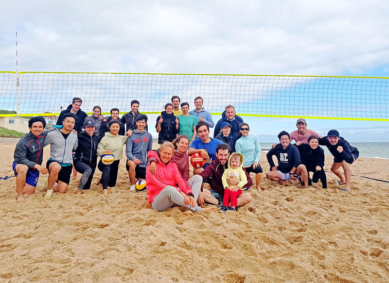 beach volleyball tournaments in Bournemouth