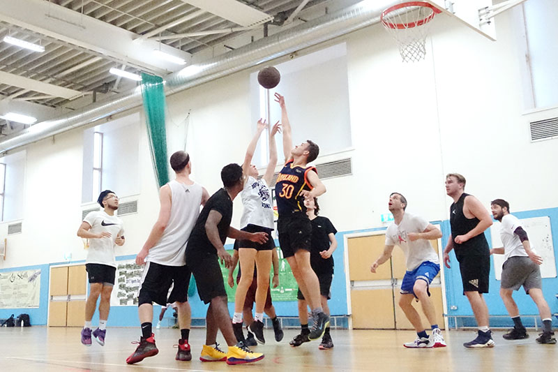 basketball in London