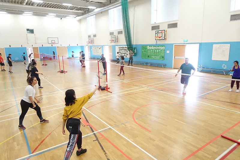 Badminton for beginners in Pimlico Vauxhall Victoria Westminster Battersea Clapham Southwark Chelsea Fulham Tooting Balham