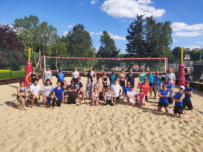 beach volleyball tournaments in London